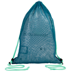 speedo Equipment Mesh Bag L nordic teal/black/green glow